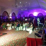 Chennai Corporate MCs Thamizharasan and Nandhini Hosting Sangeet at RaviPrasad's Family event