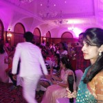 Chennai Freelance MCs Thamizharasan and Nandhini Hosting Sangeet at RaviPrasad's Family event