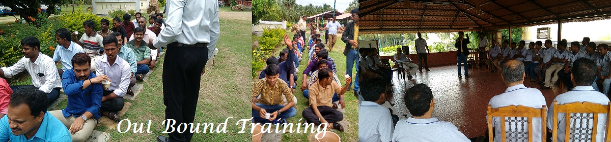 Chennai EnterTrainer Thamizh conducting out bound training at Pollachi Tiger Hills Resorts