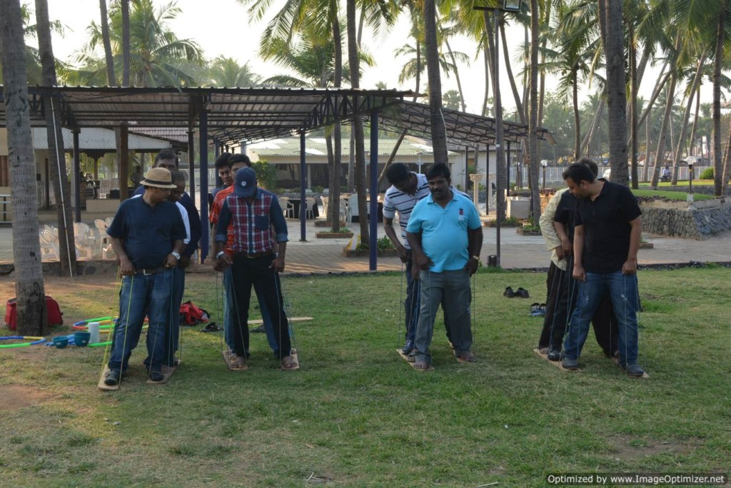 South India Hosts Thamizharasan and Nandhini at Out Bound Training OBT