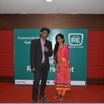Chennai Freelance MC Thamizharasan hosting Retailers meet at Hotel Jalpaan with Female Emcee Sana