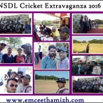 Tamilnadu Master of Ceremonies hosting cricket match at YMCA Nandanam