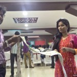 Tamilnadu Master of Ceremonies hosting Retailers meet at Hotel Jalpaan with Female Emcee Sana