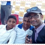 Chennai Entertainer Thamizharasan hosting cricket match at YMCA Nandanam
