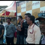 Best MC Aspirant Thamizharasan hosting cricket match at YMCA Nandanam