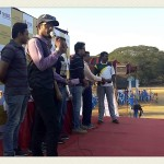 Chennai Freelance MC Thamizharasan hosting cricket match at YMCA Nandanam