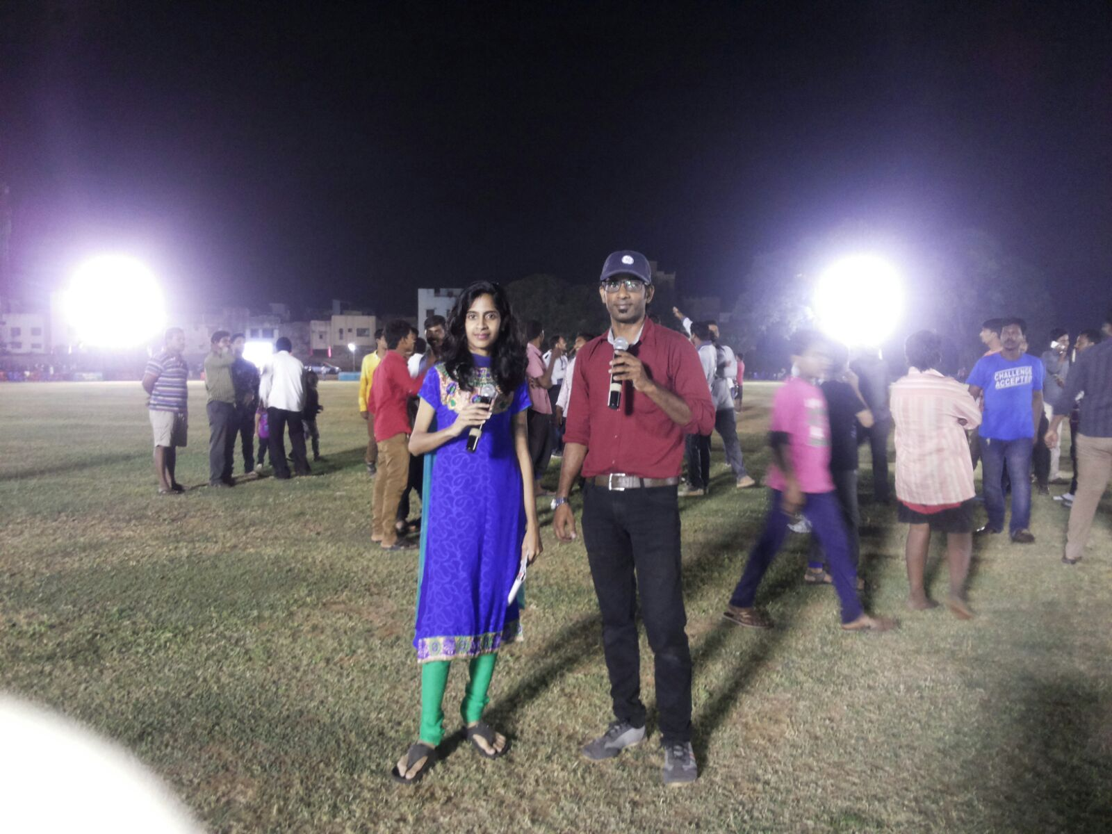 Chennai Sports Cohosts Nandhini and Thamizh hosting Republic Cup Flood Light Cricket Match at Amir Mahal