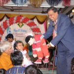 Ventriloquist (Hand Puppet show) Shanthakumar at Chennai Birthday Party with Event MC Thamizharasan