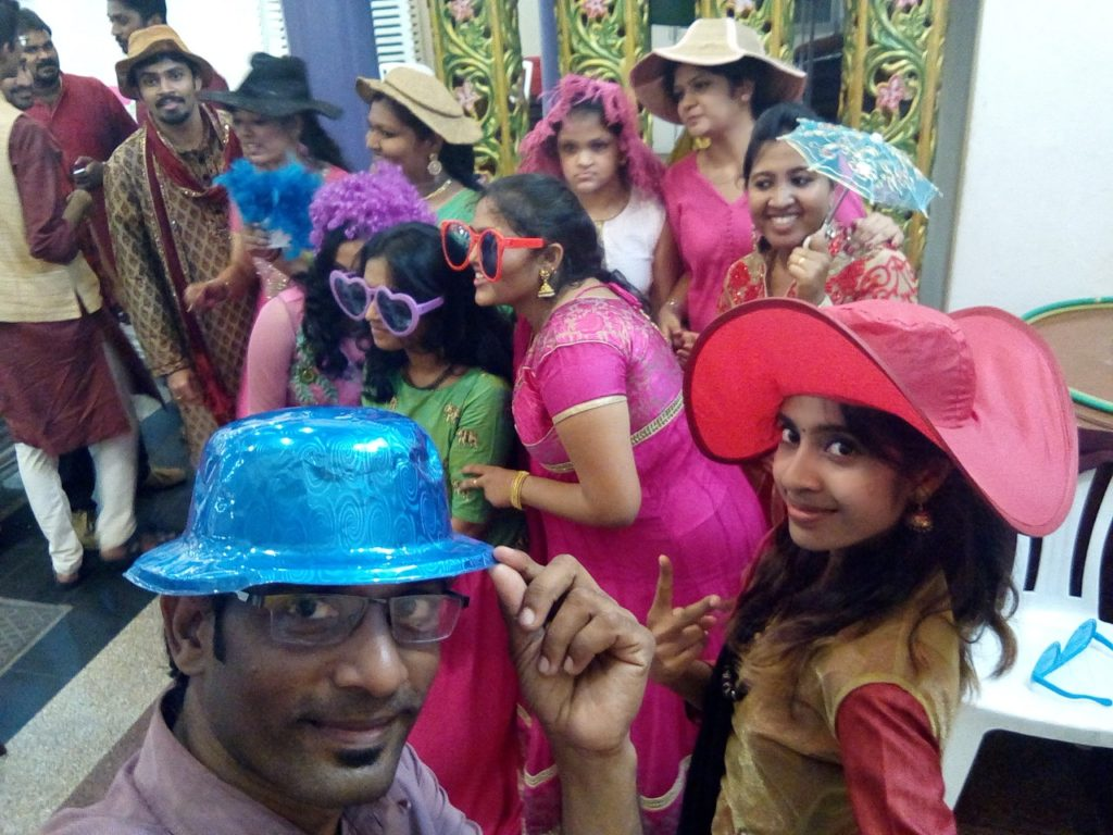 Photo Booth fun entertainment at Sangeet Ceremony Mehndi ceremony Musical Evening