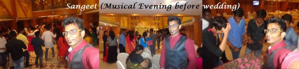 Chennai Master of Ceremonies Event Emcee Thamizharasan hosting Sangeet Ceremony