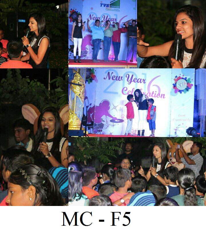 Chennai Female Emcees Master of Ceremonies MC - F5