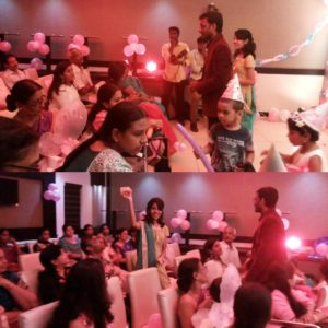 Chennai Event MCs Thamizharasan and Nandhini hosting event at Chennai