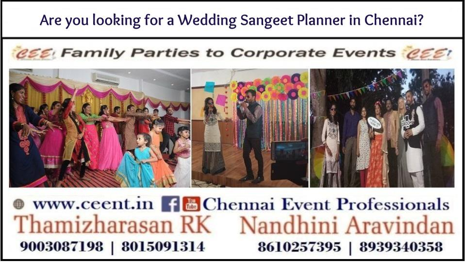 Dances types in wedding Sangeet Event